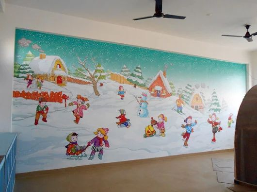 Amazing Find This Pin And More On Playschool Wall Painting Ideas By  Schoolwallpainting.