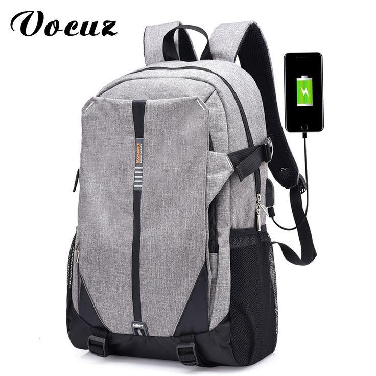 USB Unisex Design Backpack Book Bags for School Backpack Casual Rucksack Daypack Oxford Canvas Laptop Fashion Man Backpacks #Affiliate