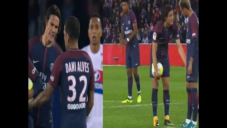 Neymar Vs Cavani Fight For Penalty Shoot - Cavani Refuge