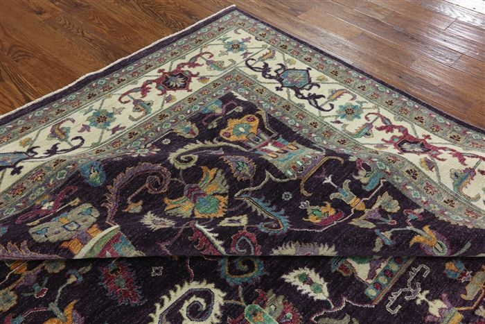 Hand Knotted Super Serapi 9 X 12 Area Rug W2657 Rugs Area