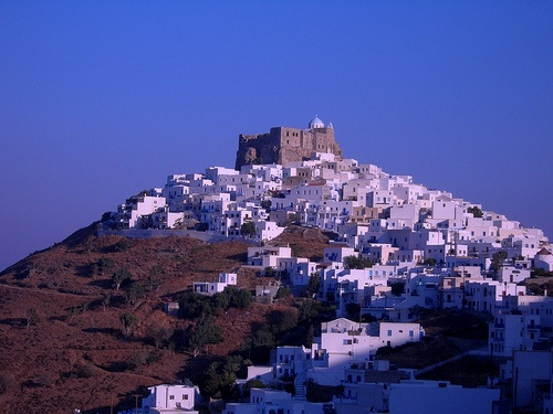 astipalaia chora by dawn, via Flickr.