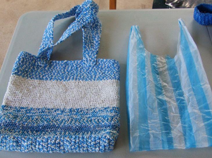 8 idee creative per riciclare i sacchetti di plastica divertendosi