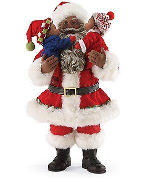 Dreams christmas traditions collection merry kiss mas santa figurine z