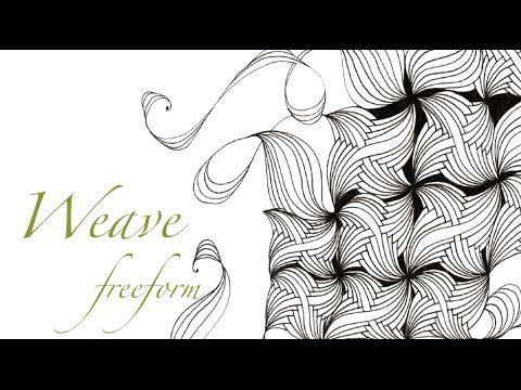 Weave Freeform. Version of Weave Pattern by Helen Williams / A Little Lime.