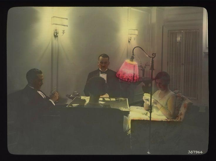 c. 1930s: City Light lighting demonstrations
