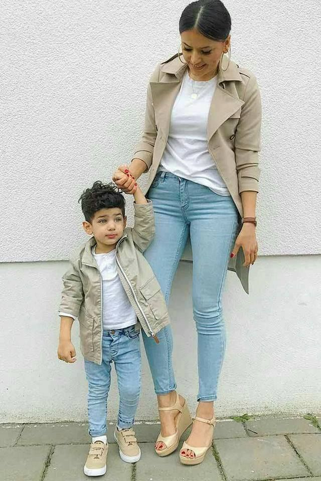 a27b6ae7eb Mom and son | Mini Me ❤ | Mommy, me outfits, Mom outfits, Mother son photos