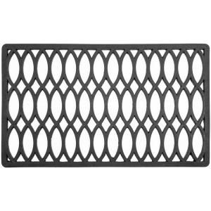 Entryways Trellis 18 in. x 30 in. Recycled Rubber Door Mat 2076R at The Home Depot - Mobile
