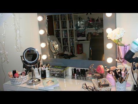 Comment fabriquer un miroir de star projets a faire for Miroir hollywood ikea