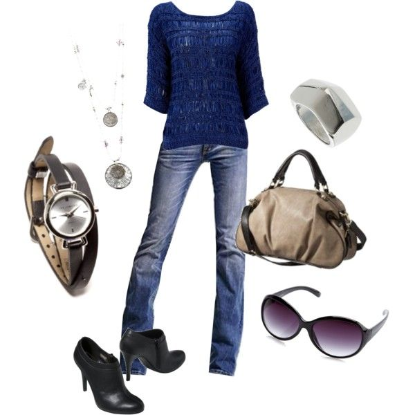 Outfit: Fit Workout, Cute Fall Outfits, Blue Sweaters, Gifts Ideas, Clothing, Blue Jeans, Cool Accessories, Father Day Gifts, Nice Outfits