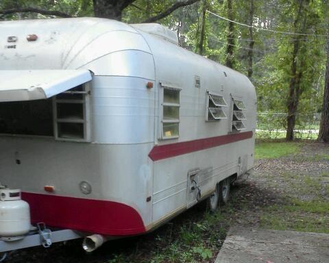 Vintage 1971 24 Ft Streamline Duke Travel Trailer Tct
