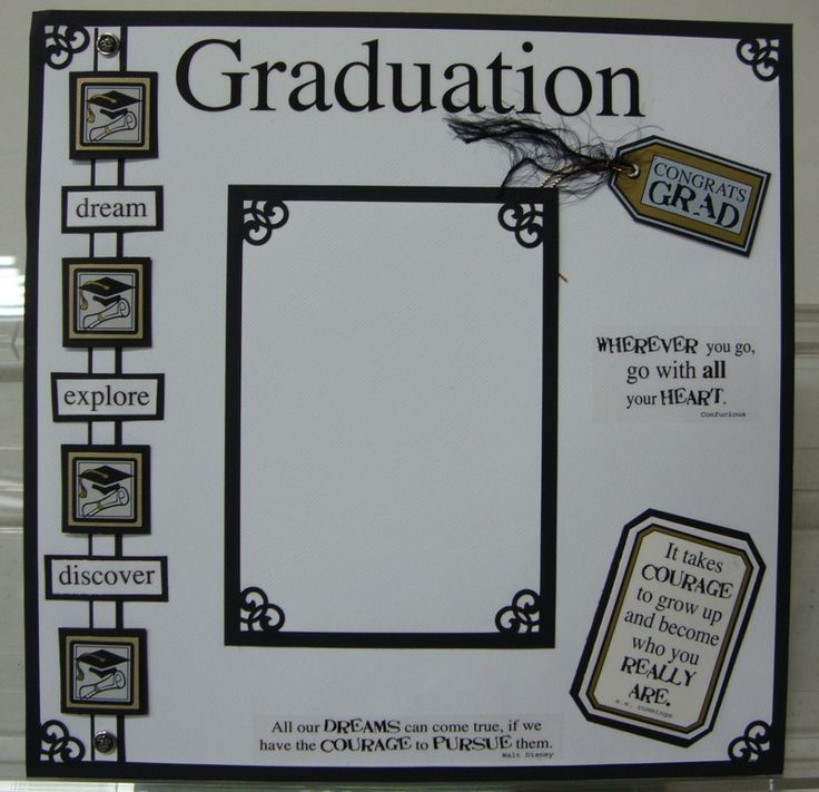 graduation  Scrapbook Layouts   Scrapbook Page Gallery - Scrapbooking by Lisa and More