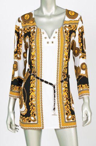 Joseph Ribkoff Tunic 143802 - Ravishing & Rugged