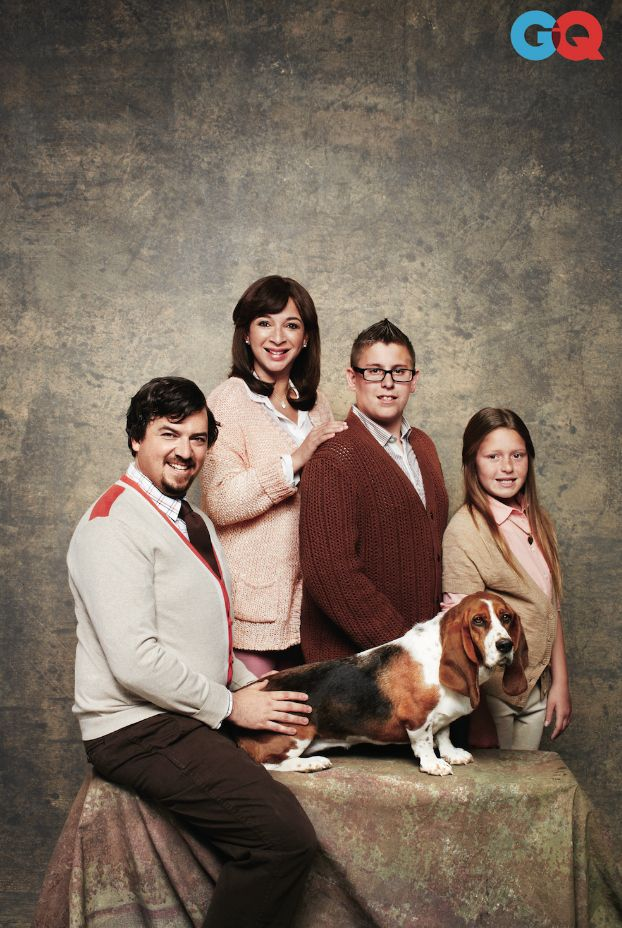 Maya Rudolph And Danny McBride Make Some Awkward Family Photos