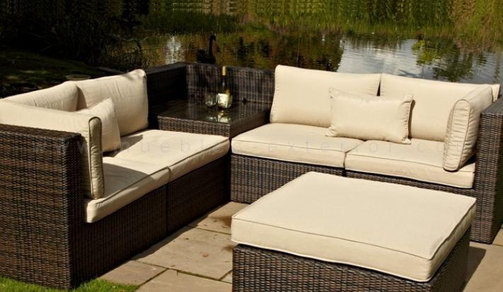 37 best muebles de jard n images on pinterest decks for Sofa rattan jardin