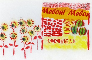 cocomeri e meloni by piperitadesign, via Flickr