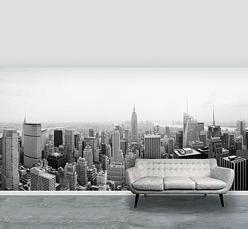 Perfect New York City Self Adhesive Wallpaper Mural   Shop By Price Part 19