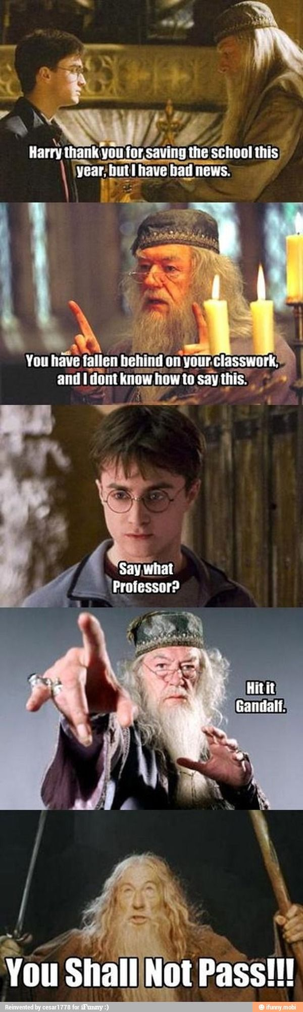 Now i can share Harry Potter humor with you!