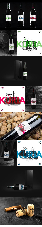 Kúria Wines of Szekszárd, Hungary. Labelling and packagind design by ZIIJN. https://ziijn.myportfolio.com