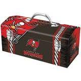 "Sainty International - Tampa Bay Buccaneers™ 16"" Tool Box - Brown/Red, 79-329"
