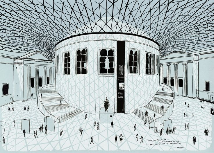Jason Brooks's London Sketchbook – in pictures British Museum