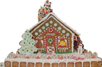 Gingerbread house decorating ideas.