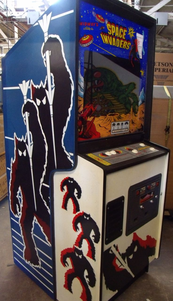 Looking for vintage games? You're in luck, at Vintage Arcade Superstore we have all kinds of games including a Space Invaders arcade game for sale.