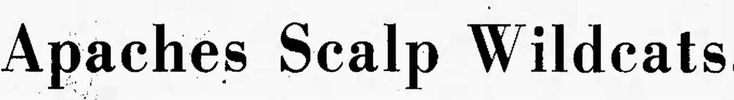People Aren't Mascots: 1971, Fall - newspaper headlines (cliches)