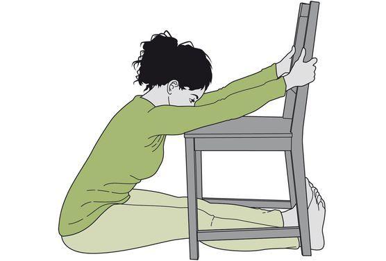 les 84 meilleures images du tableau yoga avec une chaise sur pinterest chaises chaise et. Black Bedroom Furniture Sets. Home Design Ideas