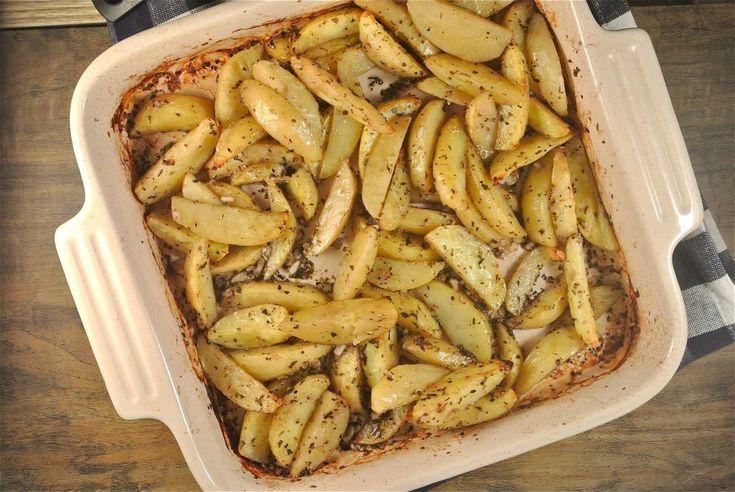 griekse aardappeltjes uit de oven