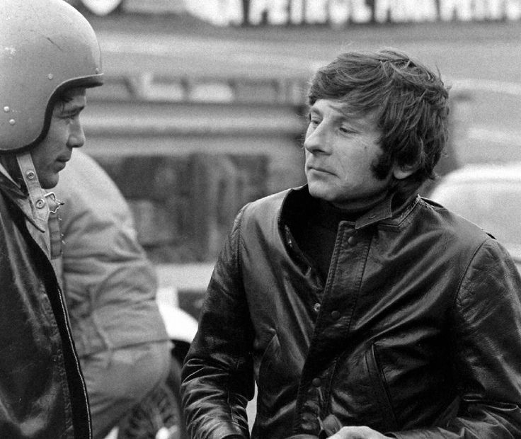 roman polanski and jay sebring by bill ray london 1968