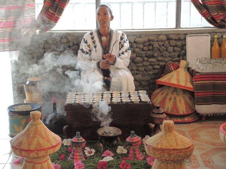 Äthiopian - Ethiopia - Kaffeezeremonie