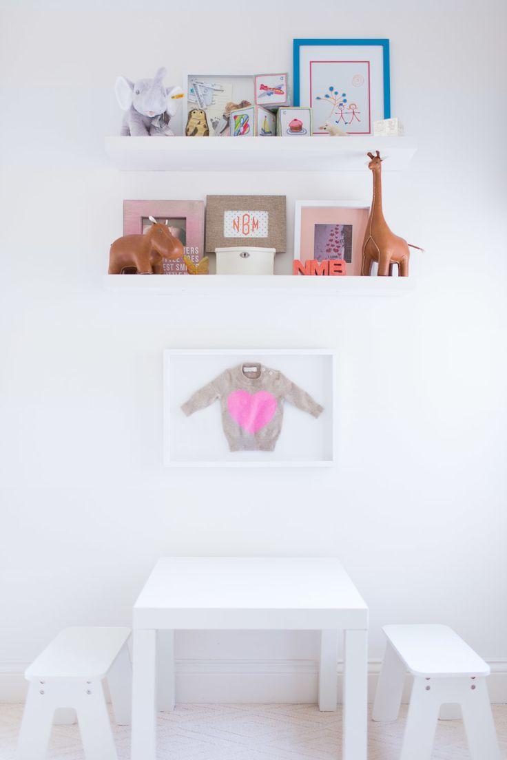 Bright white playroom
