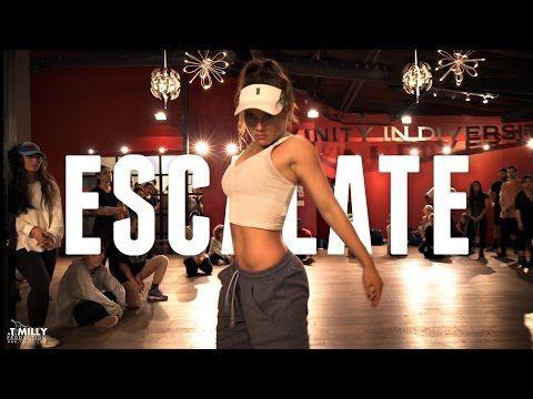 Tsar B - Escalate - Choreography by Alexander Chung - ft Jade Chynoweth - Filmed by @TimMilgram - YouTube