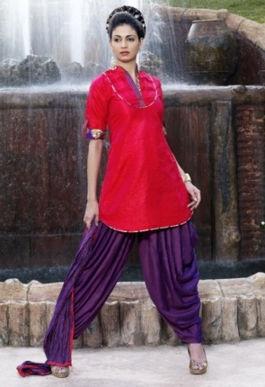 Pleasing Pink Salwar Kameez Set