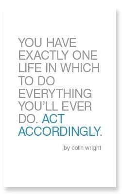 Act Accordingly by Colin Wright