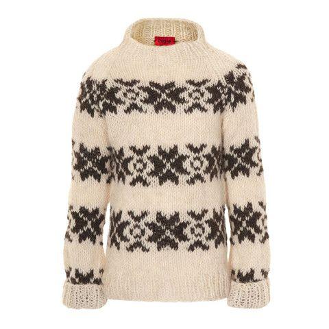 Sweater i ren alpaca uld, fra Gudrun & Gudrun til børn fra 2-8 år | uldbørn