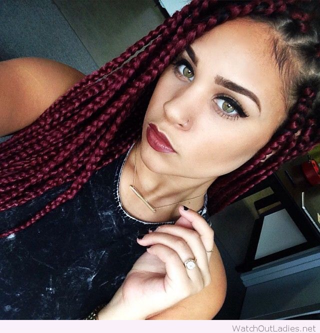 Wonderful box braids