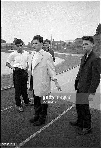 The Associates at London sports centre United Kingdom 1980