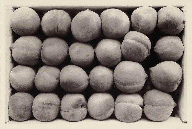 Carleton Watkins, Late Georgia Cling Peaches, 1887-88. (Image courtesy of MoMA.)