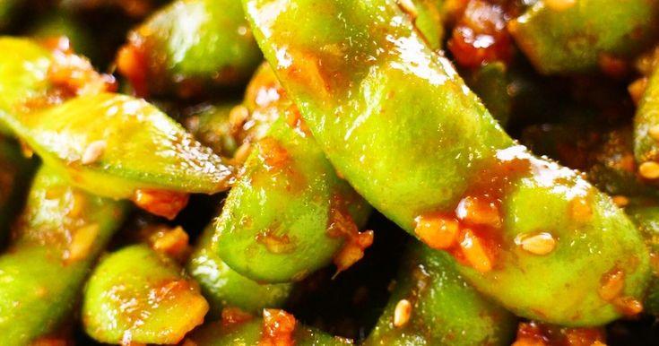 ハワイの思い出♡スパイシーガーリック枝豆 by めかまはぉ 【クックパッド】 簡単おいしいみんなのレシピが278万品