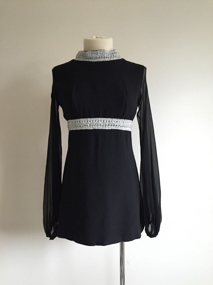 A personal favorite from my Etsy shop https://www.etsy.com/ca/listing/259155077/1960s-vintage-mod-short-dress-with-sheer
