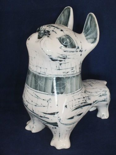 Great piece by Richard and Susan Parkinson Pottery French Bulldog