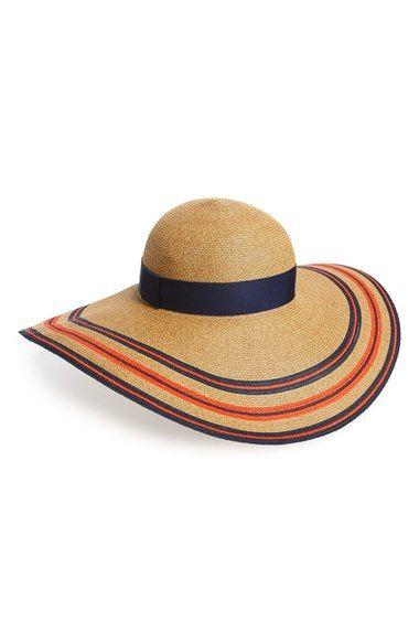 Eugenia Kim 'Sunny' Stripe Straw Sun Hat available at #Nordstrom