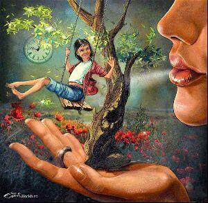 Sopla el viento en mi cara, sopla el viento y te cuento, he entre cuentos ay un amor.   (A re que)   Una rima MIA!!!