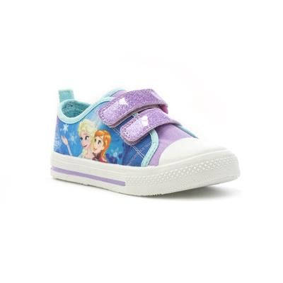 20629 Treat them this Spring to these cool Frozen Canvas Shoes featuring Elsa…