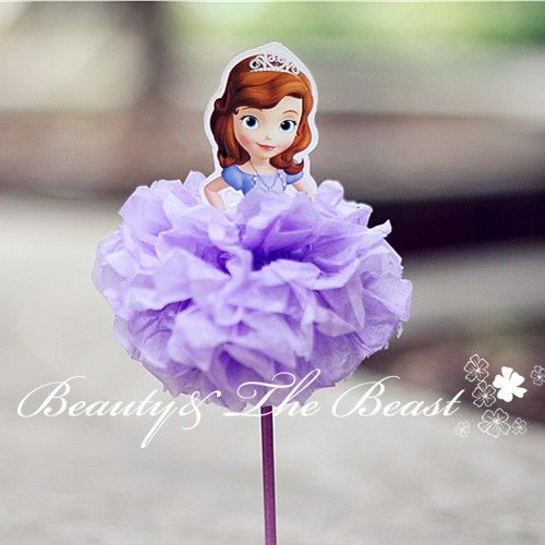 362 best sophia the first party images on pinterest sofia party cheap party decoration buy quality party decoration kids directly from china party supplies suppliers high sofia the first princess cupcake toppers solutioingenieria Image collections