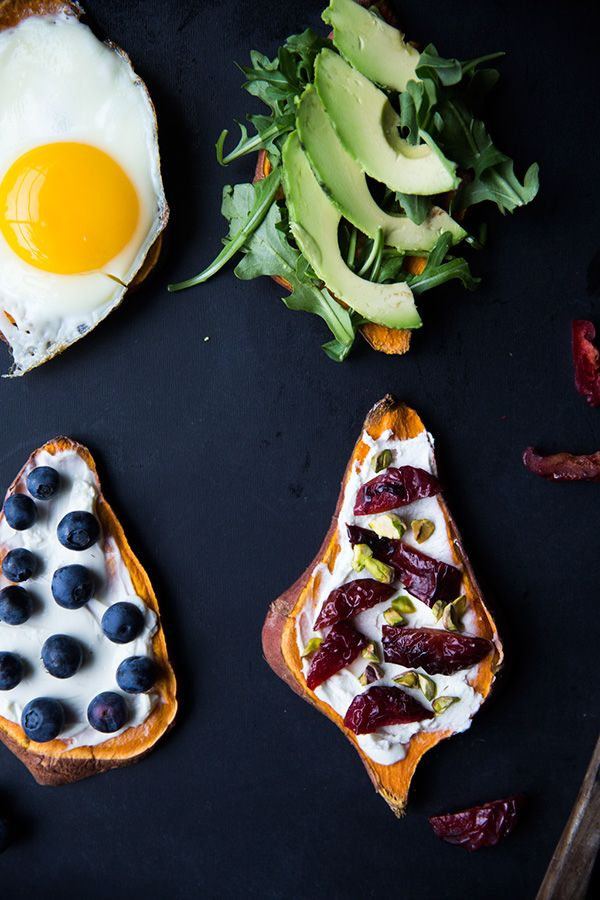 Toast is high on our list of favorite foods. Recently we heard of a new kind of toast and immediately had to try it out: sweet potato toast. Made just like bread in the toaster, the thin slices of sweet potato are topped with everything under the sun. Plus, this toast is gluten free, sweet + …