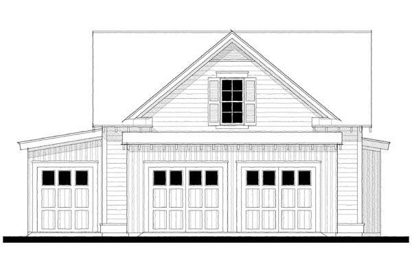 Detached garage office cottage house plans pinterest for Garage plans with office