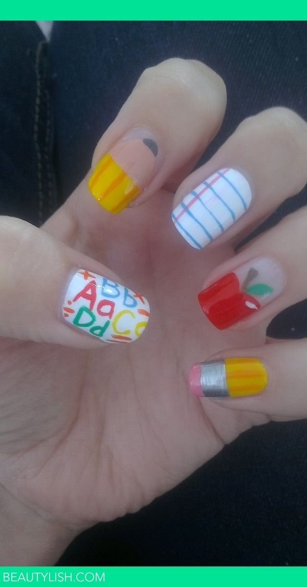 back to school nails | Alexis C.'s Photo | Beautylish