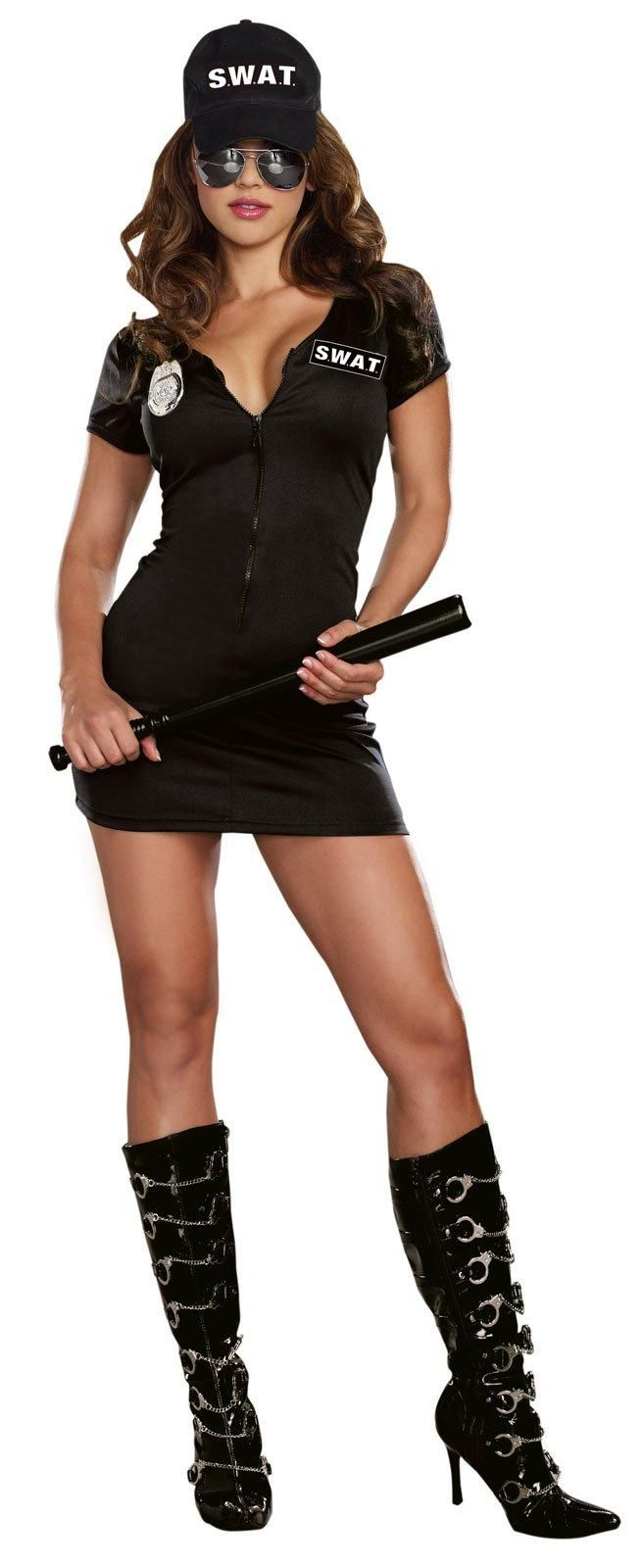 Womens S.W.A.T. Police Costume from Buycostumes.com
